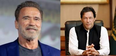 Arnold Schwarzenegger makes an offer to the Pakistani PM Imran Khan