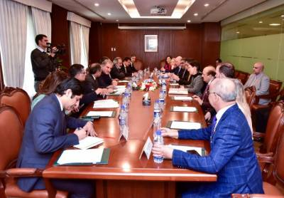 British Parliament Members of all Parties Parliamentary Group on Kashmir held important meeting with Pakistani FM Qureshi