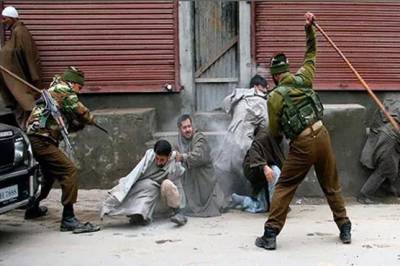 Indian troops martyred three more Kashmiri youth in fake encounter