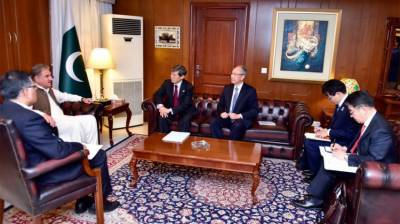 Japan International Cooperation Agency (JICA) President vows to further enhance cooperation with Pakistan