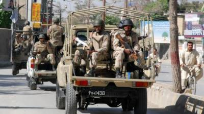 At least five security officials martyred in Balochistan in a terrorist attack