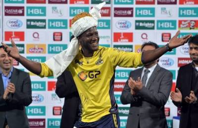 Pakistan announced honorary citizenship and highest civilian award for Peshawar Zalmi captain Darren Sammy