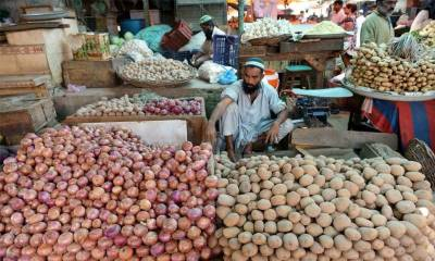 Sensitive Price Indicator based weekly inflation in Pakistan reduced