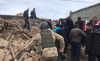 High intensity earthquake plays havoc in Turkey, Multiple casualties Reported