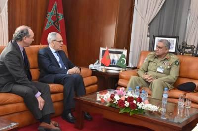 Pakistan Army Chief General Qamar Bajwa held important meetings with top leadership of Morocco
