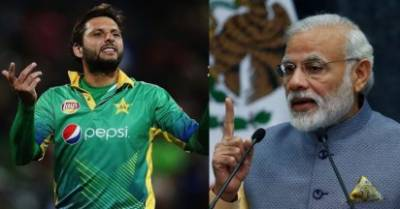 Pakistani Cricket Star Shahid Afridi lashes out at Indian PM Narendra Modi
