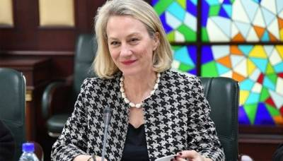US top diplomat Alice Wells responds over the Pakistan's goodwill gesture towards India through sports