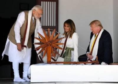 Big embarassment for PM Modi, US President Donald Trump and Melania Trump Reject 'High Tea' at Ahmedabad 'Ashram'