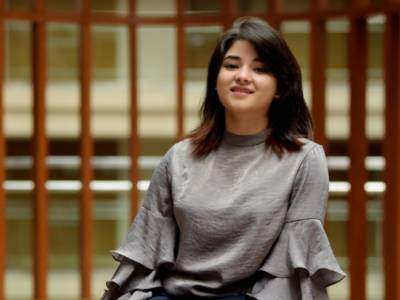 Bollywood former actress Zaira Wasim shares renowned Pakistani scholar's lecture on her Instagram