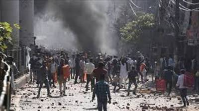 Fresh Anti Muslims Riots and Violence erupt in Indian capital New Delhi