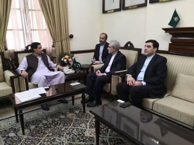 Iranian Ambassador seek enhanced ties with Pakistan over bilateral front