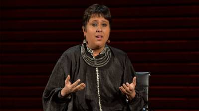 Prominent Indian Journalist Barkha Dut exposed Indian PM Modi's hate politics explosion for world during President Trump's visit