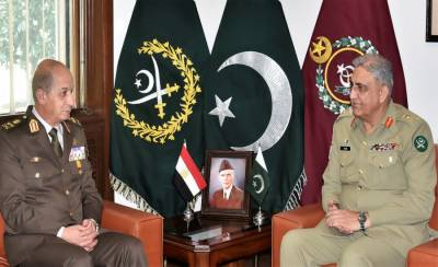 Egyptian Military Chief held key meeting with Pakistan Army Chief at GHQ