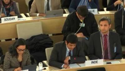 Pakistan and Indian diplomats clash at the top UN forum