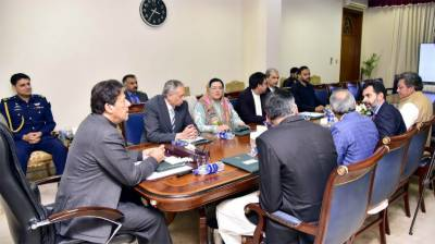 PM Imran Khan held high level meeting of economic team in Islamabad