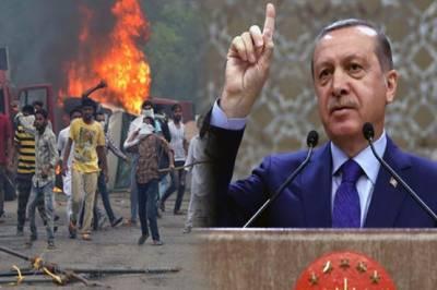 Turkish President Tayyip Erdogan lashes out at Indian PM Narendra Modi