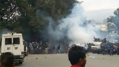 Curfew imposed in Indian states after the death toll rose drastically in Anti Muslims Riots