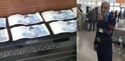 Pakistani Airport Customs officials caught taking bribe from British national