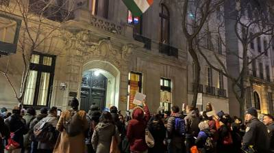 Rallies held in New York against the recent anti Muslim violence in New Delhi