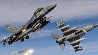 Two Military Fighter Jets shot down by Air Force