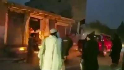 Bomb blast near Levies Headquarters in Balochistan targeting officials