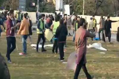 Clashes Reported between participants of Aurat March and Religious Rally in Islamabad