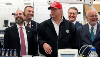 Has US President Donald Trump tested positive for the Coronavirus?