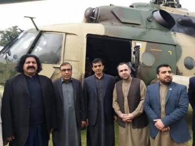 In a NO surprise, PTM leaders get Free Ride on Afghanistan Army Helicopter for Kabul