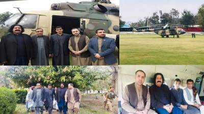 PTM leaders Mohsin Dawar and Ali Wazir gets special protocol from the Afghan Army and Intelligence agencies