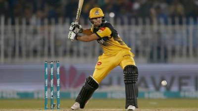 Peshawar Zalmi's Haider Ali makes history in the Pakistan Super League