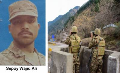 Pakistan Army soldier martyred by Indian Army unprovoked fire, Pakistan Army targets Indian posts