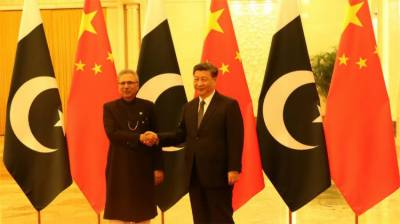 Pakistani President Arif Alvi held important meeting with his Chinese Counterpart in Beijing