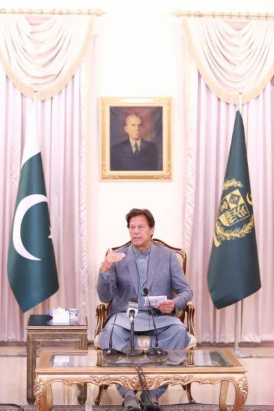 Pakistani PM Imran Khan unveils special economic package to deal with the coronavirus outbreak in the country