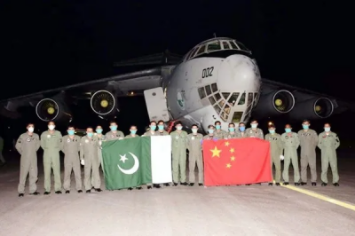 PAF Air Transport fleet airlifted huge medical equipment and relief goods from China to fight coronavirus