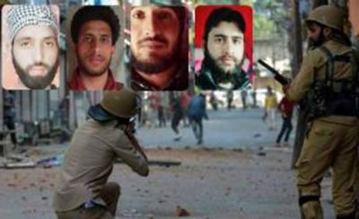 State terrorism, Indian troops martyr four more Kashmiri youth in fake encounters in Occupied Kashmir