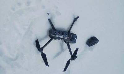Pakistan Army shot down Indian Military drone at the Line of Control violating Pakistani Airspace