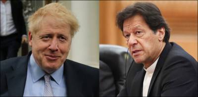Pakistani PM Imran Khan sends special message for the British PM Boris Johnson battling coronavirus