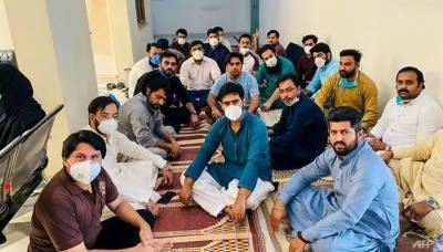 Dozens of Pakistani doctors and nurses go on hunger strike over non availability of PPE for frontline paramedics