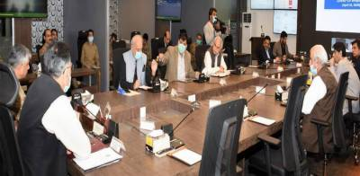 Important meeting of the National Command and Operation Centre NCOC held in Islamabad over Coronavirus pandemic