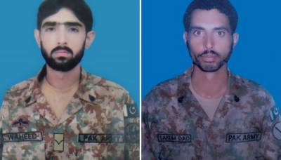 Nine terrorists killed and two Army soldiers embraced martyrdom in a deadly encounter in North Waziristan