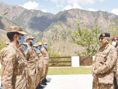 COAS General Qamar Bajwa gives a strong message to Pakistan Military troops at the LoC