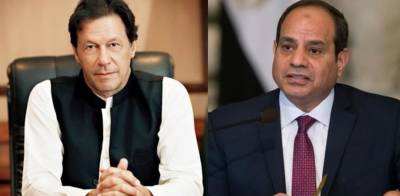 Pakistani PM Imran Khan held important telephonic conversation with Egyptian President Sisi