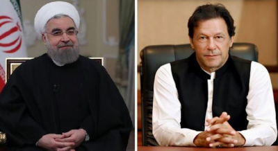 PM Imran Khan held important telephone call with Iranian President Hasan Rouhani