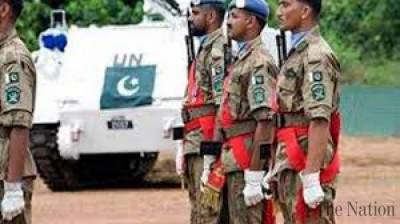 United Nations strongly hailed Pakistani peacekeepers role in rescuing more than 2000 stranded people in Africa