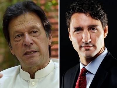 PM Imran Khan held important telephonic call with the Canadian counterpart PM Justin Trudeau