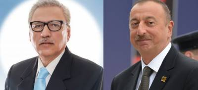 Azerbaijani President strongly stands with Pakistan against India over Occupied Kashmir