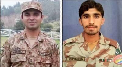 Pakistan Army Major among 6 martyred in a terrorist attack near Pak Iran border