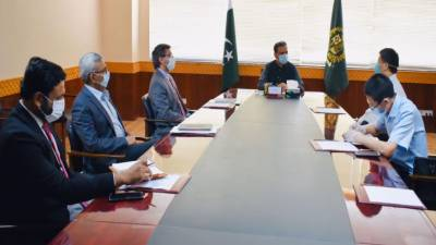 SAPM Information Asim Saleem Bajwa held important meeting with top Chinese delegation over mega Railways project worth $9 billion