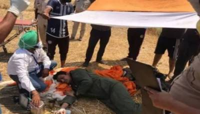 Yet another Indian Air Force Mig 29 Fighter Jet crashed in Punjab