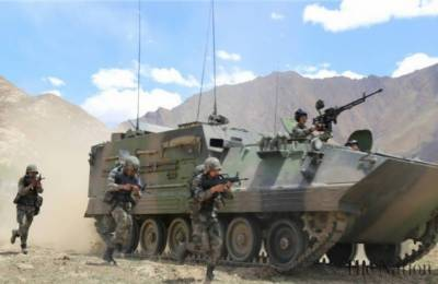 11 Indian and Chinese Amy soldiers injured after tense face off in Sikkim Borders